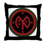 27th Infantry Throw Pillow