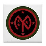 27th Infantry Tile Coaster