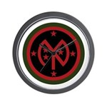 27th Infantry Wall Clock