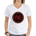 27th Infantry Women's V-Neck T-Shirt