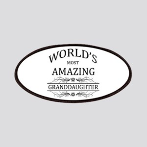 World's Most Amazing Granddaughter Patches