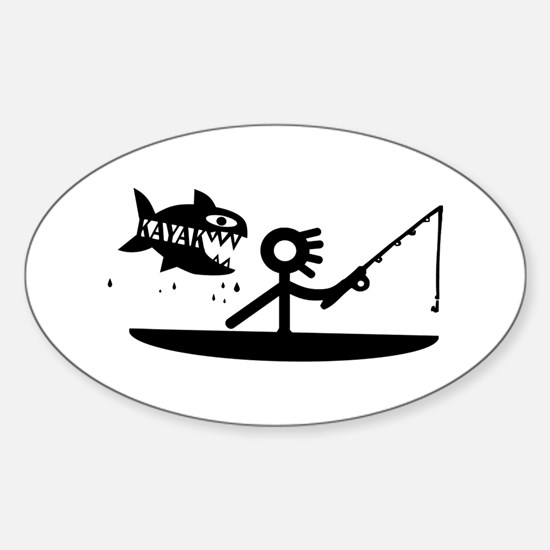 Kayak Fishing Decal