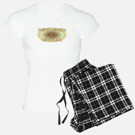NORTH CAROLINA A&T CHOCOLAT Pajamas