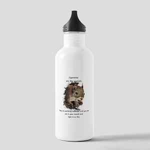 Quit Smoking Motivational Fun Squirrel Quote Water