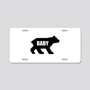 Baby Bear Aluminum License Plate