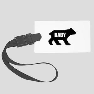 Baby Bear Luggage Tag