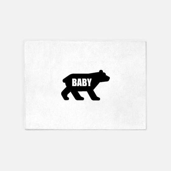 Baby Bear 5'x7'Area Rug