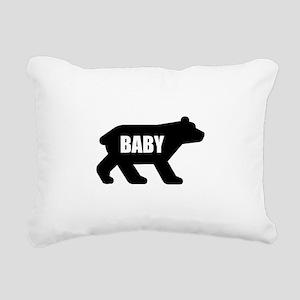 Baby Bear Rectangular Canvas Pillow