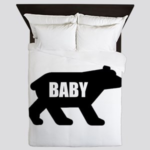 Baby Bear Queen Duvet