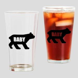 Baby Bear Drinking Glass