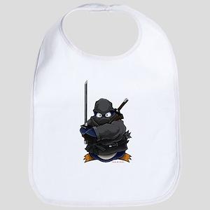 Ninja Penguin Bib