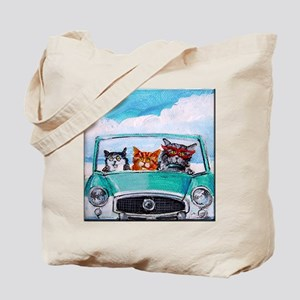3 Cats In A Nash Metro Tote Bag