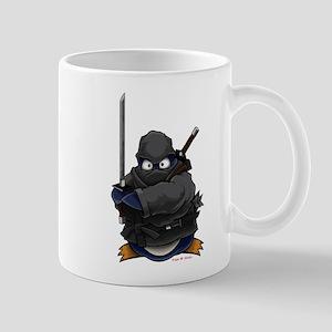 Ninja Penguin Mugs