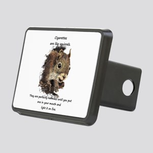 Quit Smoking Motivational Rectangular Hitch Cover