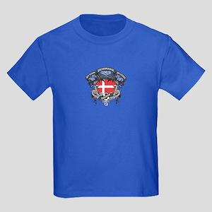 Denmark Soccer Kids Dark T-Shirt