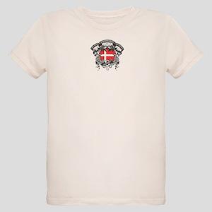 Denmark Soccer Organic Kids T-Shirt
