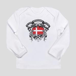 Denmark Soccer Long Sleeve Infant T-Shirt
