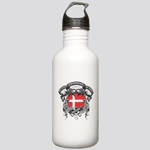 Denmark Soccer Stainless Water Bottle 1.0L