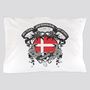 Denmark Soccer Pillow Case