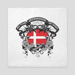 Denmark Soccer Queen Duvet