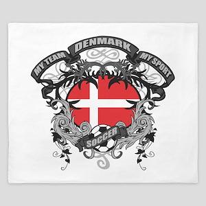 Denmark Soccer King Duvet