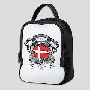 Denmark Soccer Neoprene Lunch Bag