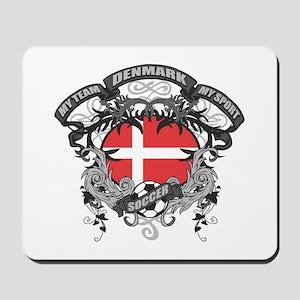 Denmark Soccer Mousepad