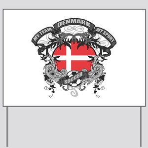 Denmark Soccer Yard Sign