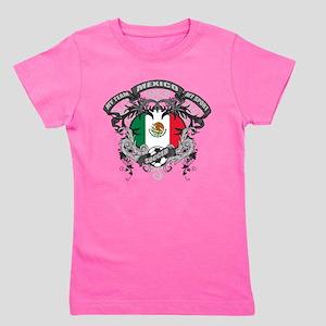 Mexico Soccer Girl's Tee