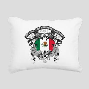 Mexico Soccer Rectangular Canvas Pillow