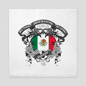 Mexico Soccer Queen Duvet
