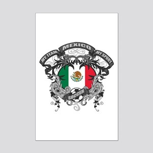Mexico Soccer Mini Poster Print