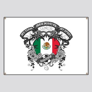 Mexico Soccer Banner