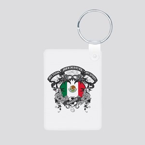 Mexico Soccer Aluminum Photo Keychain