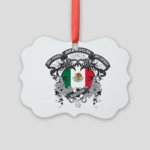 Mexico Soccer Picture Ornament