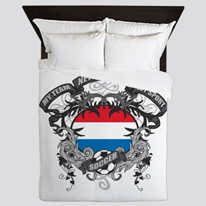 Netherlands Soccer Queen Duvet