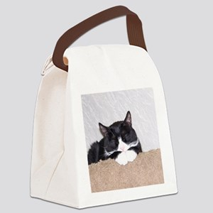 Sweet Kitty Canvas Lunch Bag