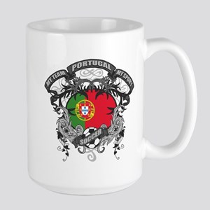 Portugal Soccer Large Mug