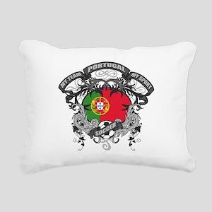 Portugal Soccer Rectangular Canvas Pillow