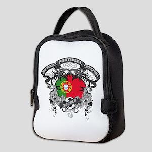 Portugal Soccer Neoprene Lunch Bag