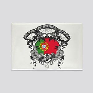 Portugal Soccer Rectangle Magnet