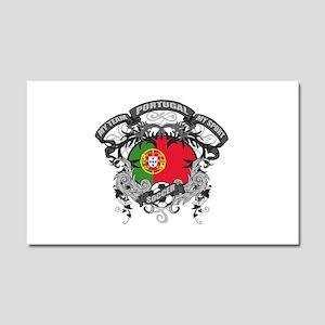 Portugal Soccer Car Magnet 20 x 12