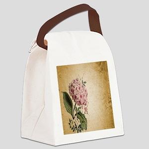 paris hydrangea  french botanical Canvas Lunch Bag