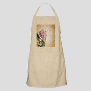 paris hydrangea  french botanical art Apron