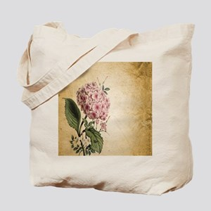 paris hydrangea  french botanical art Tote Bag
