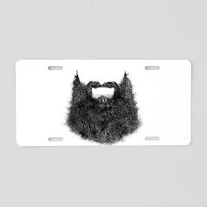 Big Beard Aluminum License Plate
