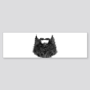 Big Beard Bumper Sticker