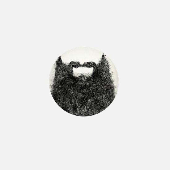 Big Beard Mini Button
