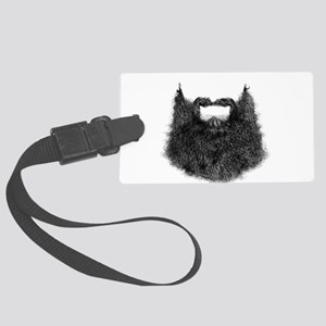 Big Beard Luggage Tag