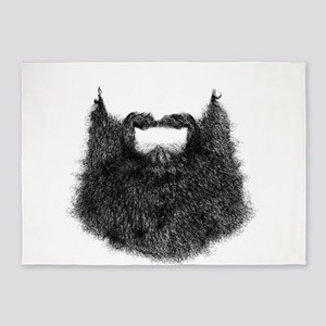 Big Beard 5'x7'Area Rug